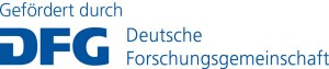 Gefördert durch die Deutsche Forschungsgemeinschaft